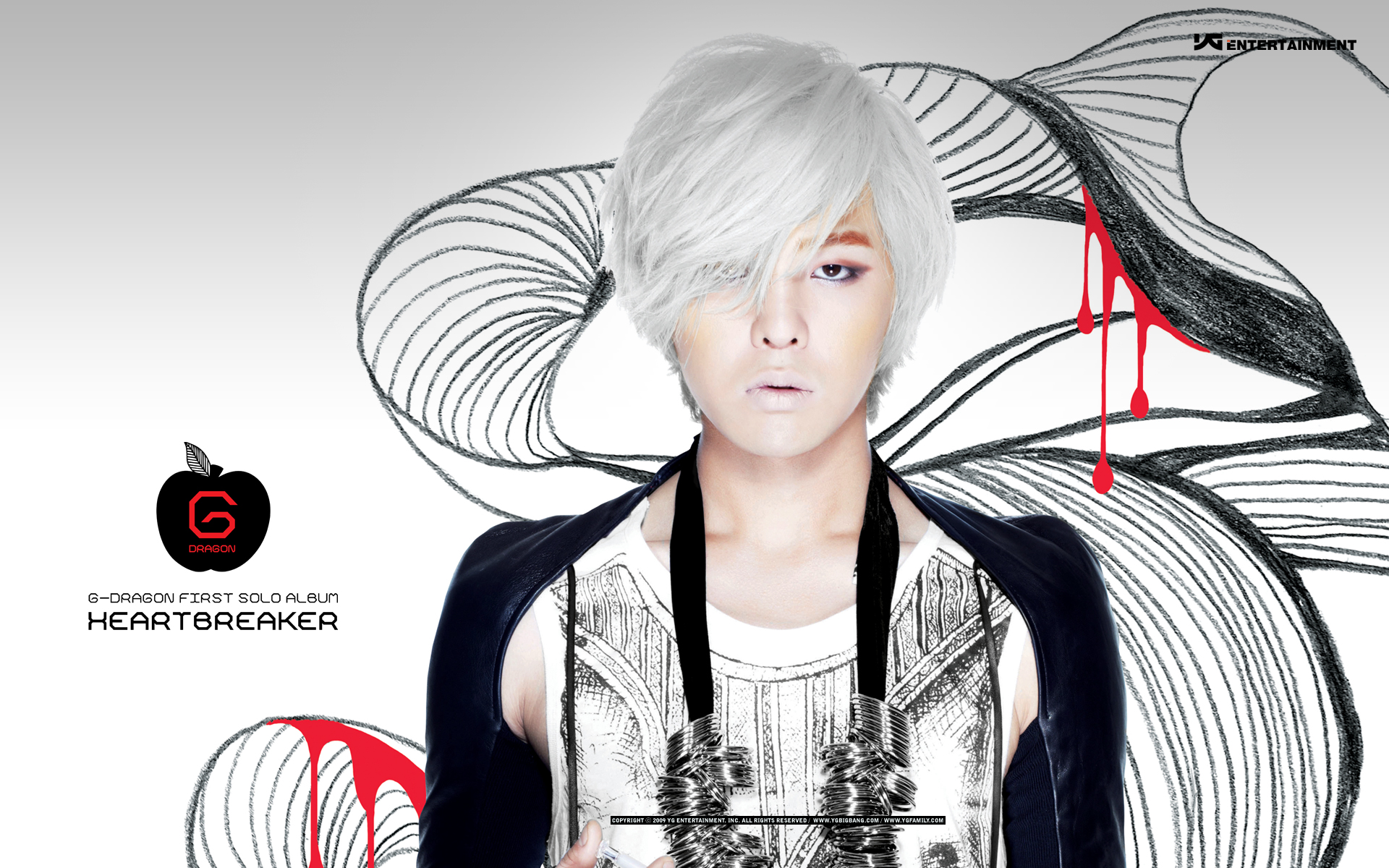 GDragon || Top Album for 2009 (Hottracks) | OH! KPOP
