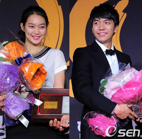 lee seung gi and shin min ah 2   OH! KPOP