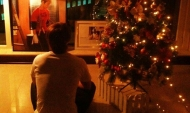 Super Junior's Donghae tweets a photo of him and his Christmastree