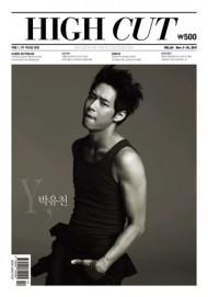 "Park Yoochun's pictorial for ""High Cut Korea""revealed"